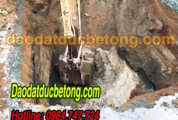 Đào đất công trình