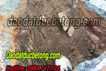 Đào đất Bình Phước